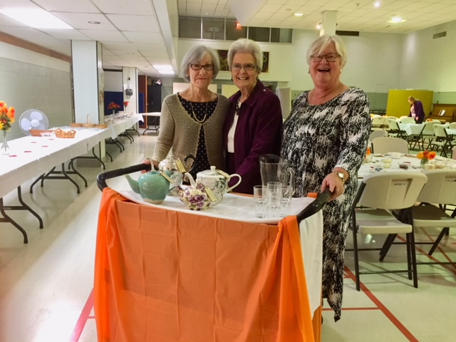 St. Andrew's Afternoon Tea - September 29, 2018